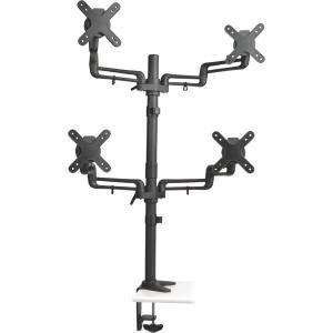 Tripp Lite Quad Full-Motion Display Flex Arm Desk Mount Monitor Stand Clamp 13