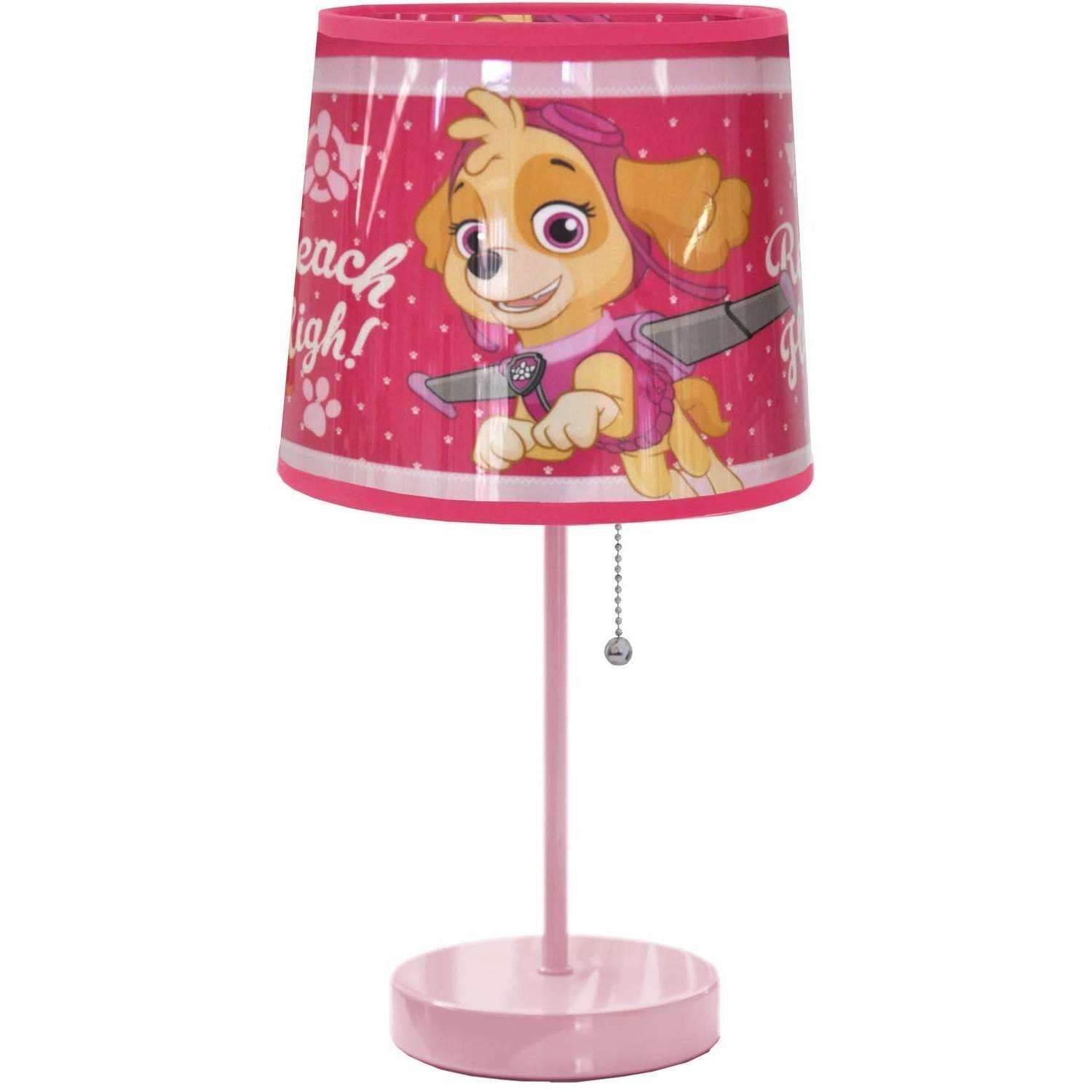 Skye Everest Paw Patrol Nursery Night Light Table Lamp Touch Lamp Switch Lamp
