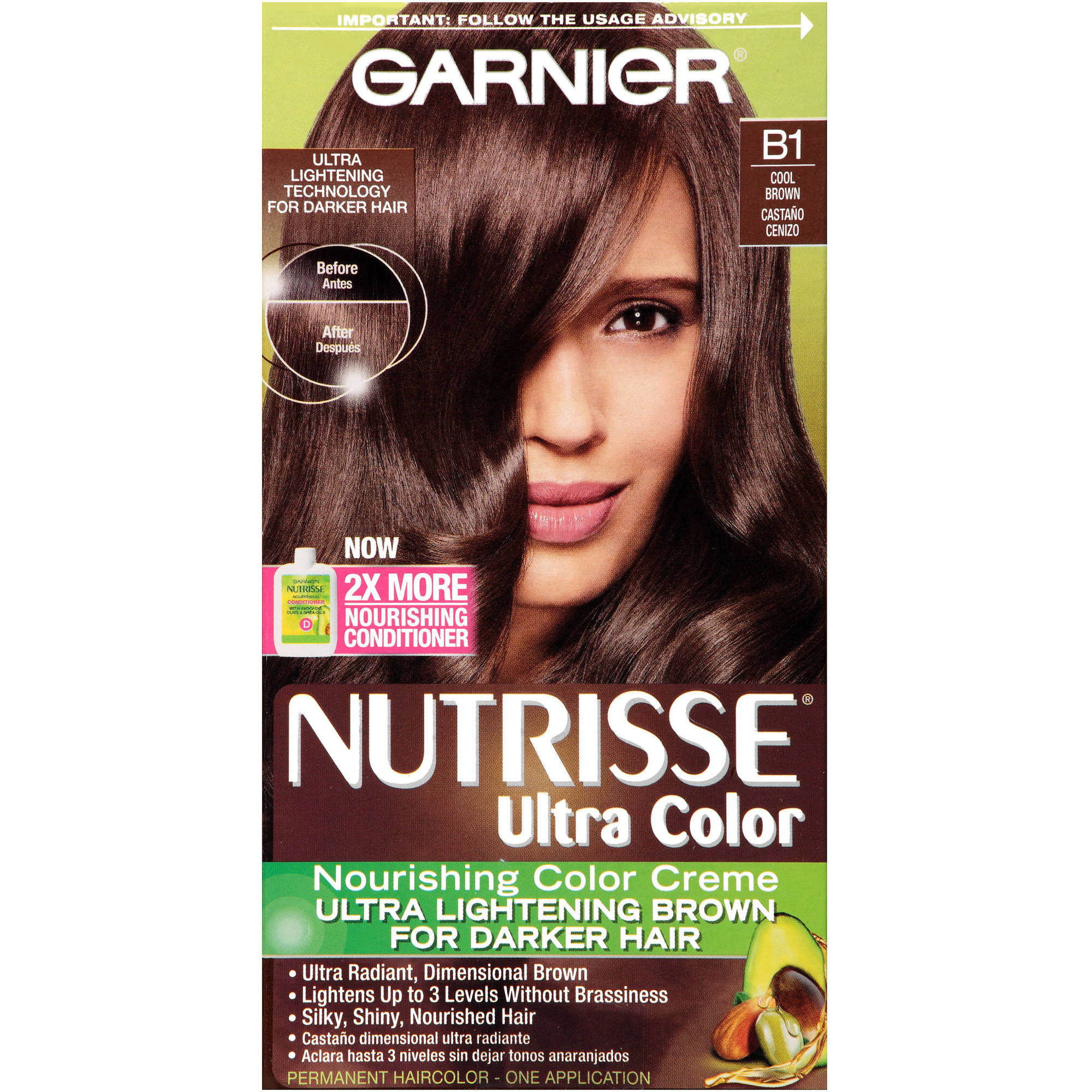 Garnier Nutrisse Nourishing Creme Hair Color