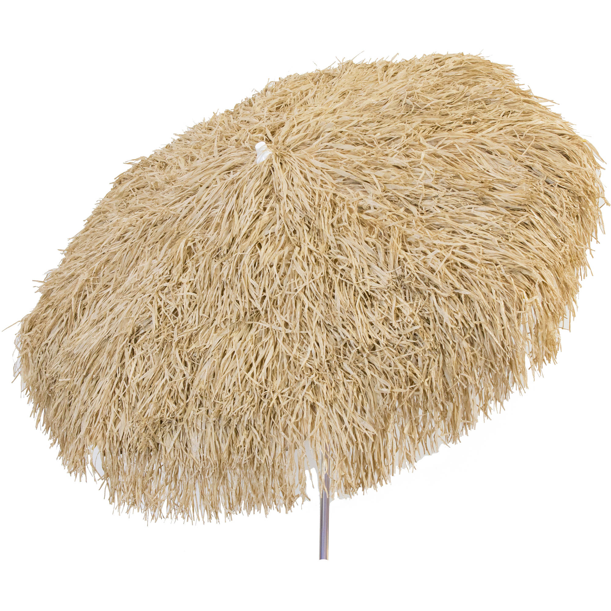 DestinationGear Palapa Tiki Umbrella 6' Whiskey Brown Patio Pole