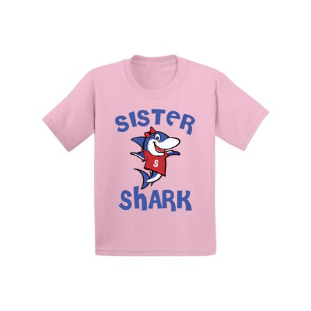 Awkward Styles Sister Shark Toddler Shirt Shark Family Shirts Kids Shark T Shirt Matching Shark Shirts for Family Shark Birthday Party for Girls Shark Party Outfit](Minion Birthday Outfit)