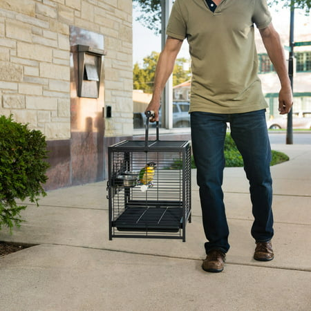 Prevue Pet Products Anodized Aluminum Travel Carrier for