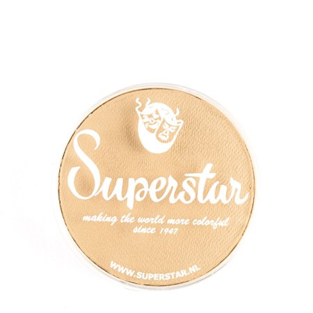 Superstar Face Paint - Almond 016, Hypoallergenic, Gluten Free and Cruelty Free - Child Friendly, Great for Fairs, Carnivals, Party and Halloween Painting (16 gm) - Halloween Painting For Kids