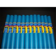 RiteCo Raydiant 80076 Riteco Raydiant Fade Resistant Art Rolls Medium Blue 36 In. X 30 Ft. 12 Pack