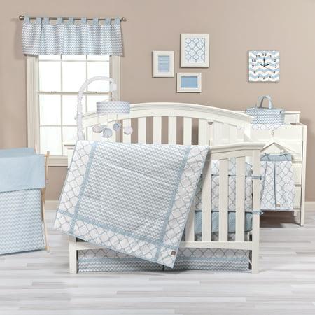Trend Lab Blue Sky 3 Piece Crib Bedding - Trend Lab Infant Toy Bag