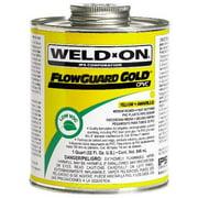 WELD ON 2713 FLOWGUARD PINT GOLD per 4 Each