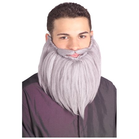 Grey Wizard Beard and Mustache](Costume Beards And Mustaches)