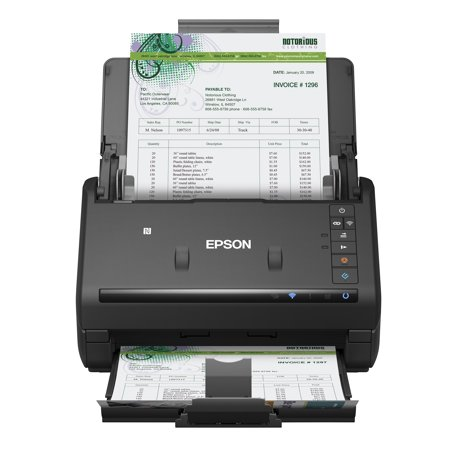 Epson® WorkForce® ES-500WR Wireless Color Receipt & Document Scanner for PC and Mac, Auto Document Feeder (ADF) ()