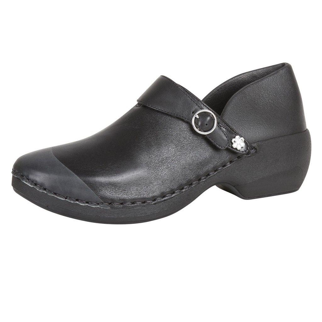 4eursole work shoes s slip resistant memory black