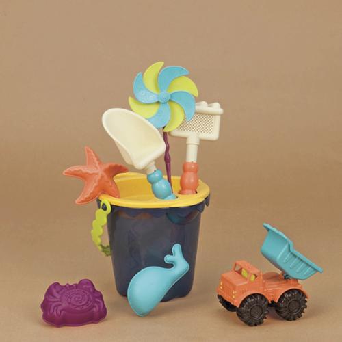 Toysmith B. Toys B. Sands Ahoy Medium Beach Bucket Set - Walmart.com