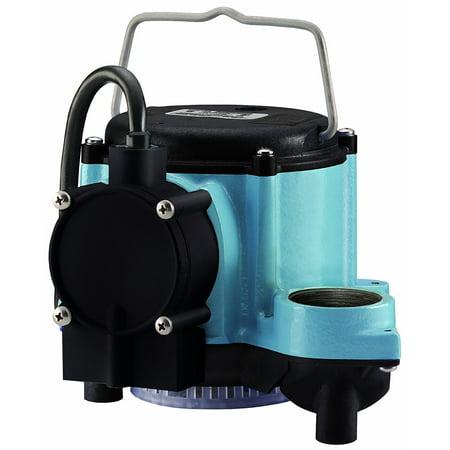 Little Giant 6 Series LG-506158 1/3 HP Integral Diaphragm Submersible Sump - Little Giant Submersible Well Pump