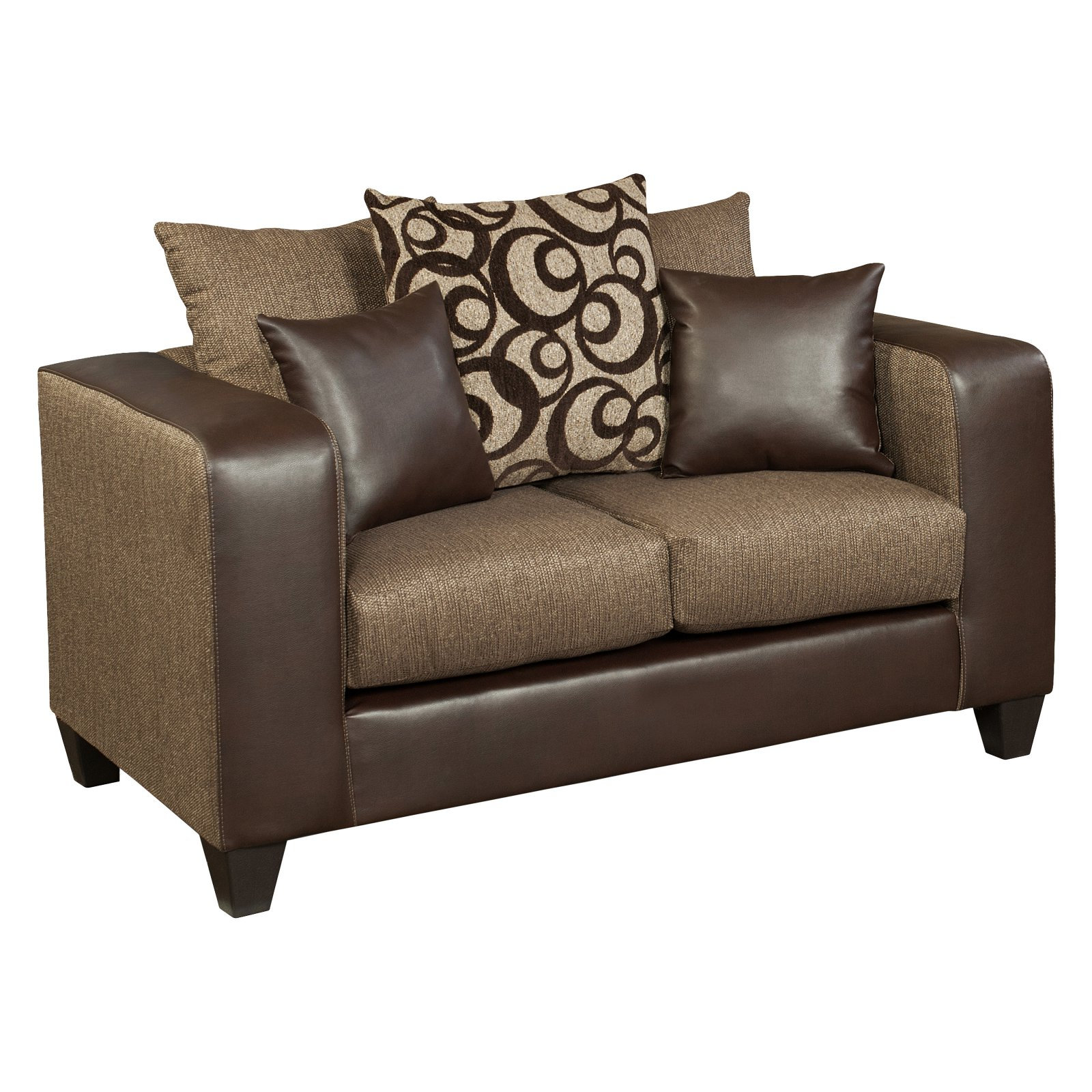 Flash Furniture Riverstone Object Chenille Loveseat