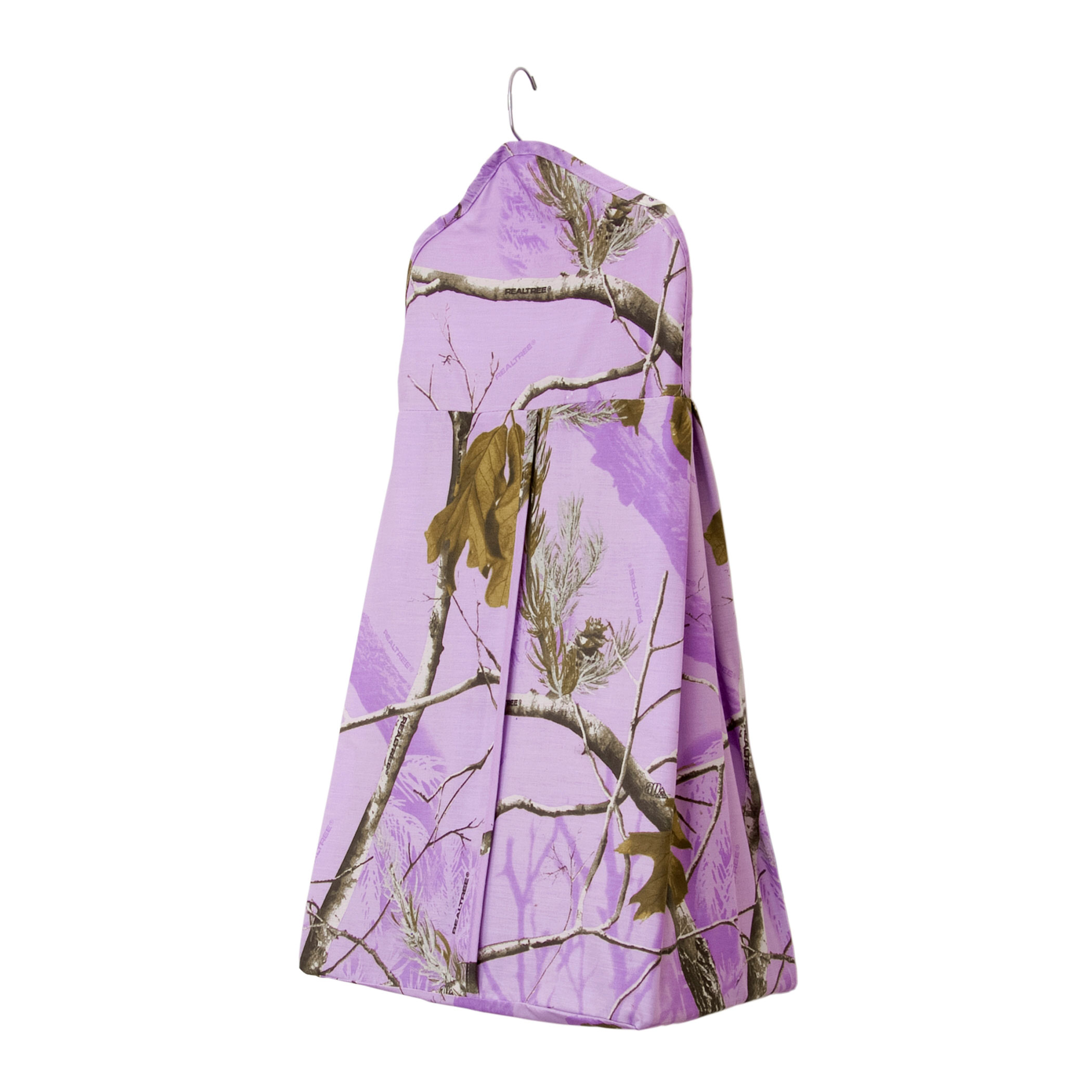 Realtree Lavender Camouflage Crib Diaper Stacker by Realtree