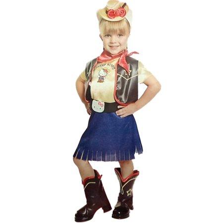 Halloween Hello Kitty Makeup Tutorial (Toddler Girls Cowgirl Hello Kitty Dress Halloween Costume)