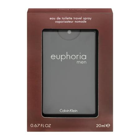 Calvin Klein Euphoria Eau De Toilette Travel Spray, 0.67 Fl Oz