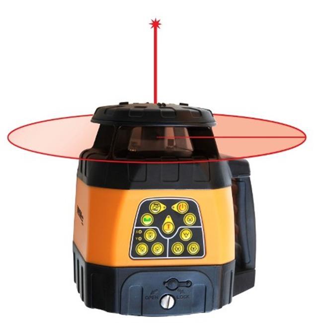 Johnson Level 40-6526 Electronic Self-Leveling Horizontal & Vertical Rotary Laser by Johnson Level & Tool Mfg Co Inc