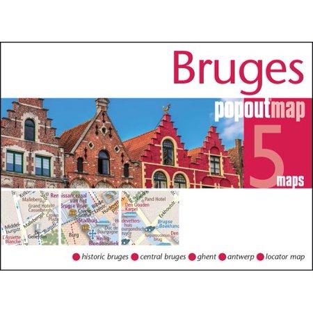 Bruges Popout Map: 9781910218310