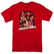 Criminal Minds Brain Trust Mens Short Sleeve Shirt