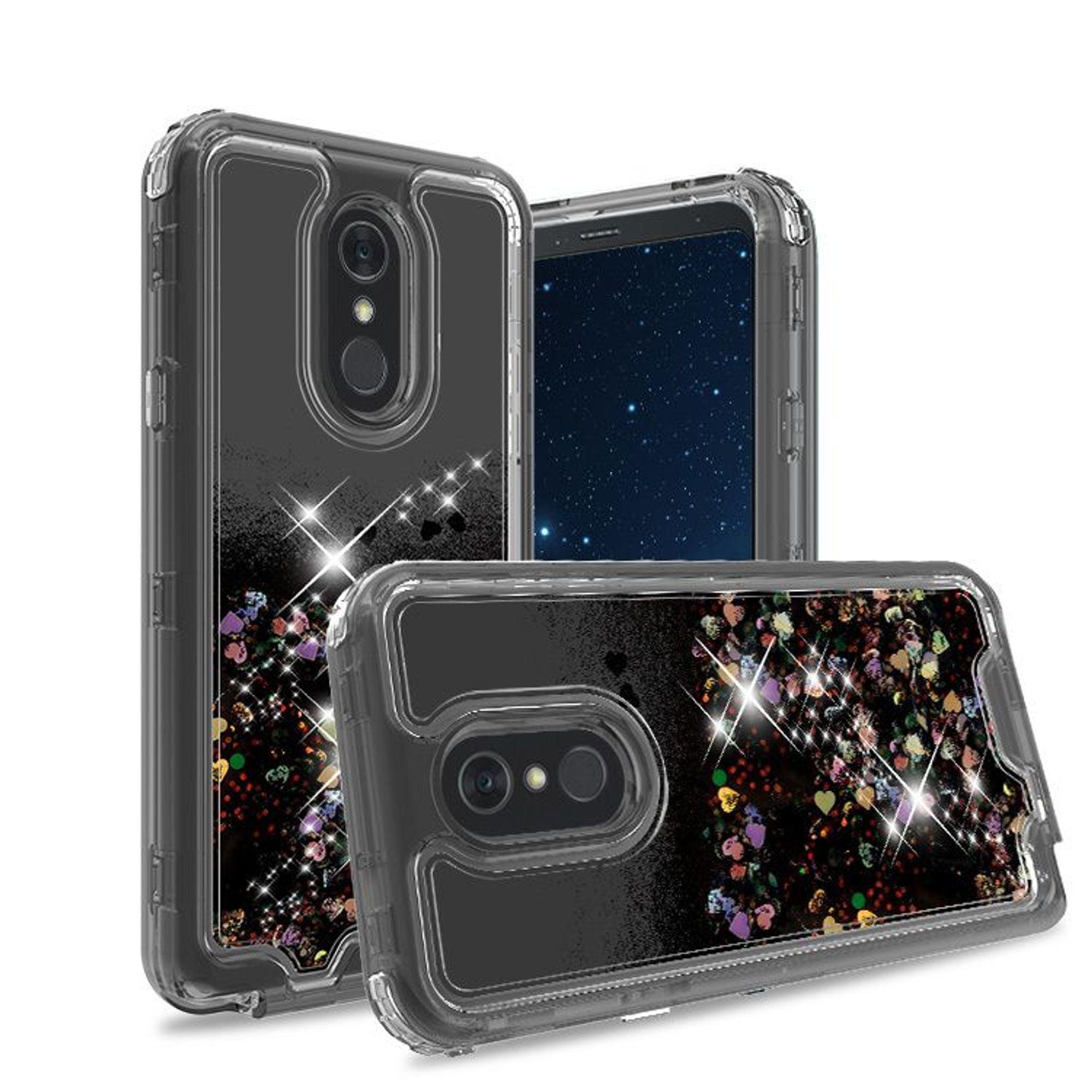 For LG Stylo 5 Case, by Insten 3in1 Liquid Glitter Dual ...