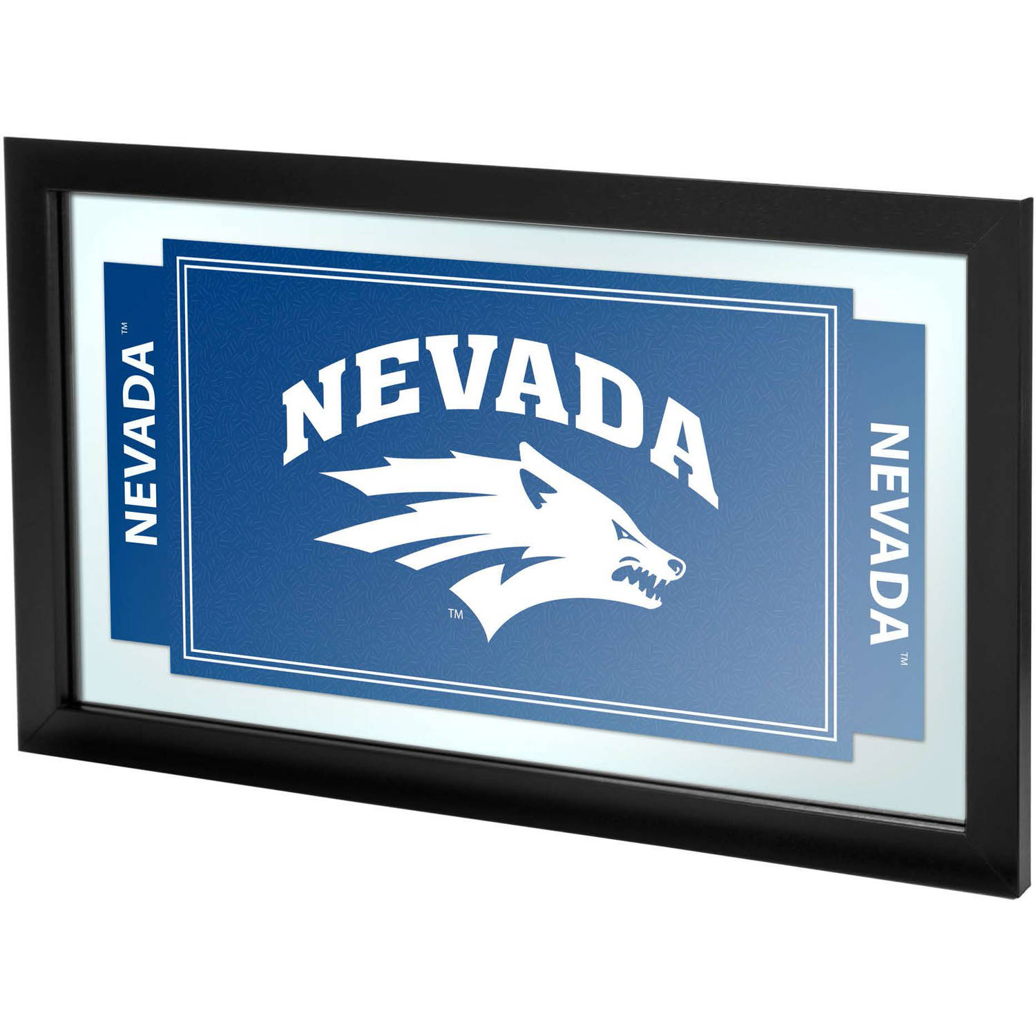 University of Nevada Framed Logo Mirror