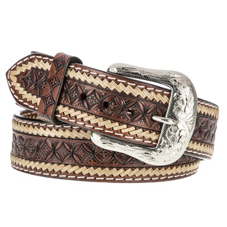 western fashion accessories mens  vintage snowflake brown belt western fashion accessories mens  vintage snowflake brown belt