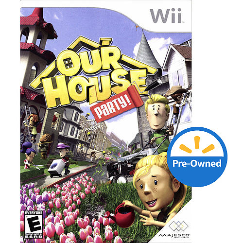 Our House Party (Wii) - Pre-Owned