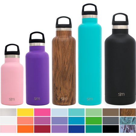 Simple Modern 12 oz Ascent Kids Water Bottles - Vacuum Sealed Standard  Mouth Leak Proof 18 8 Stainless Steel Pink Swell Flask - Double Wall Hydro  Travel Mug ... 106f110ee