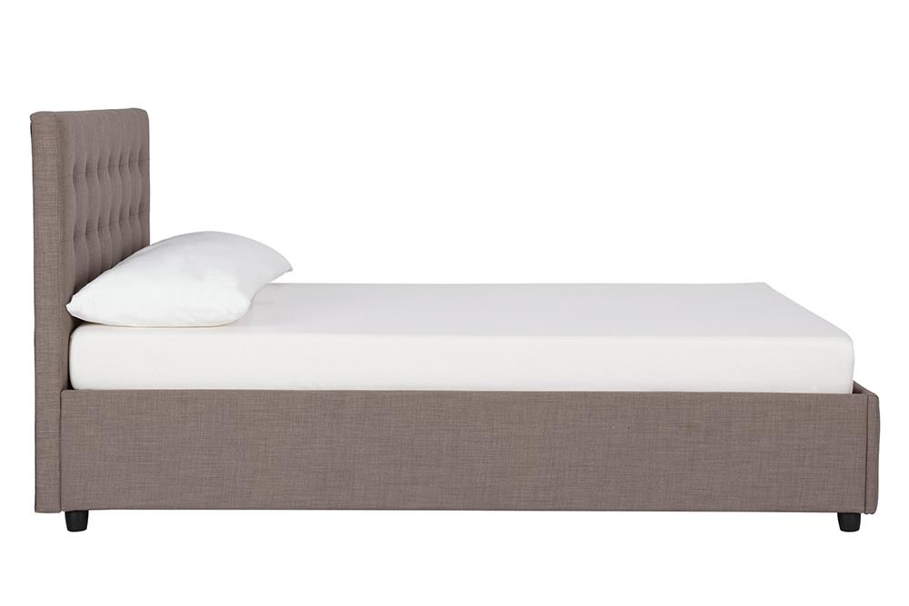 DHP Cambridge Upholstered Storage Panel Bed Various Sizes and Colors - Walmart.com  sc 1 st  Walmart & DHP Cambridge Upholstered Storage Panel Bed Various Sizes and ...