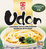 Udon Oriental Flavor Japanese Style Pre-Cooked Noodle Soup, 5.60 oz