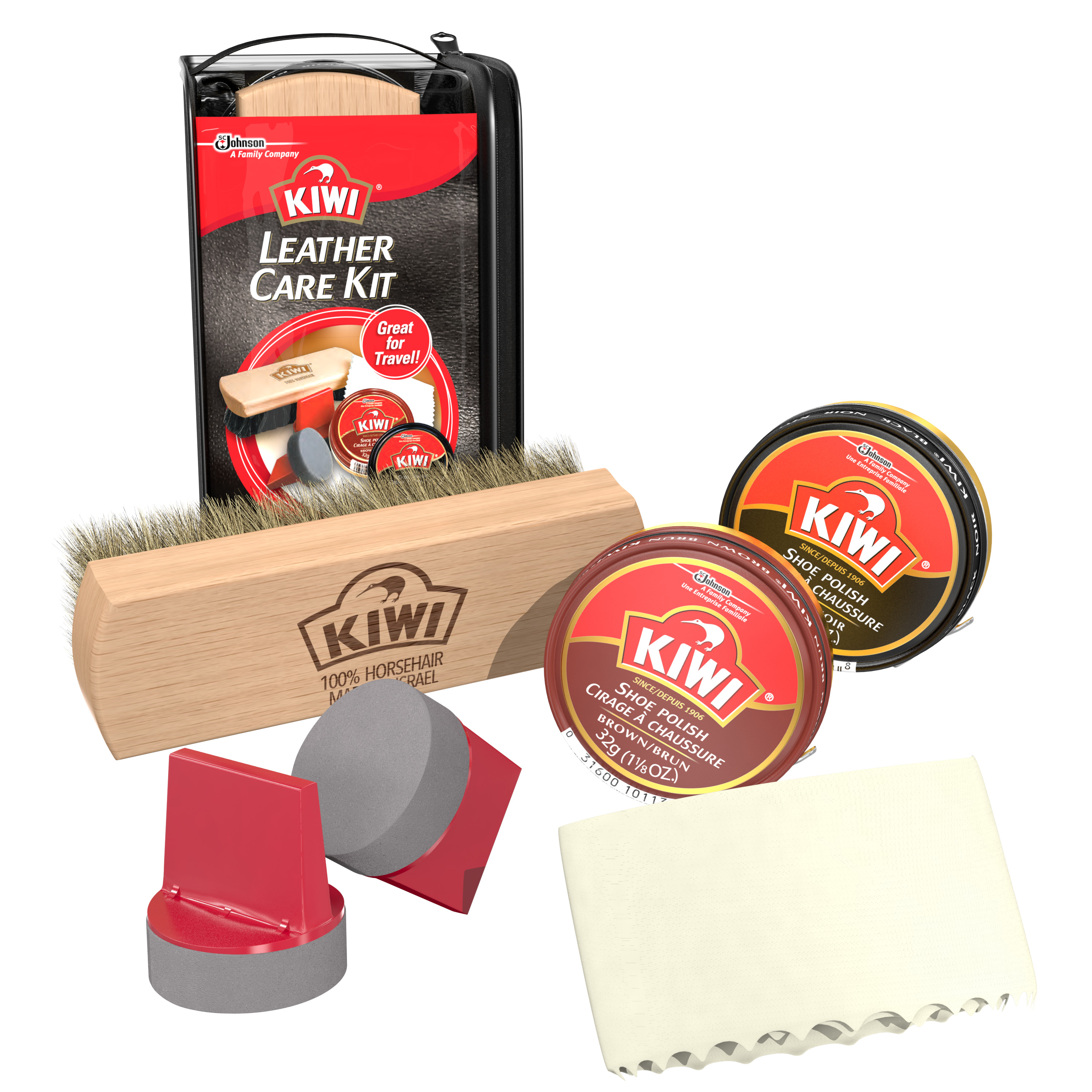 KIWI Leather Care Kit