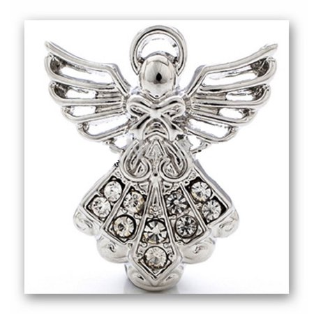 18mm Snap Charm Button Interchangeable Jewelry Guardian Angel