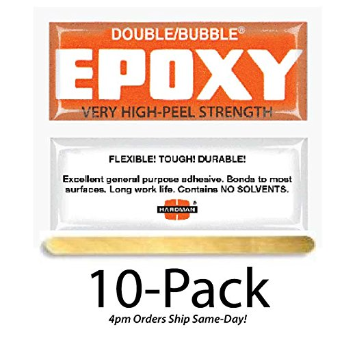 Hardman Double Bubble Orange Toughened Epoxy High Peel St...