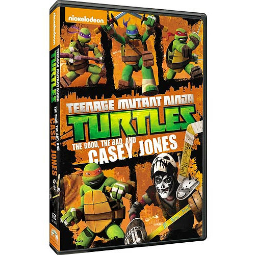 TEENAGE MUTANT NINJA TURTLES-GOOD BAD THE CASEY JONES (DVD) (ENG 5.1DD)