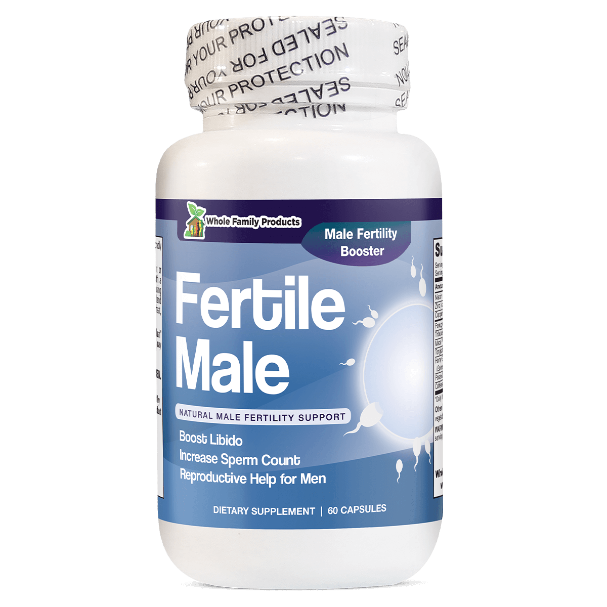 Supplements to increase sperm load