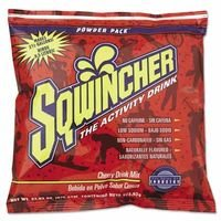 Sqwincher(R) 23.83 Ounce Instant Powder Pack Cherry Electrolyte Drink - Yields 2 1/2 Gallons