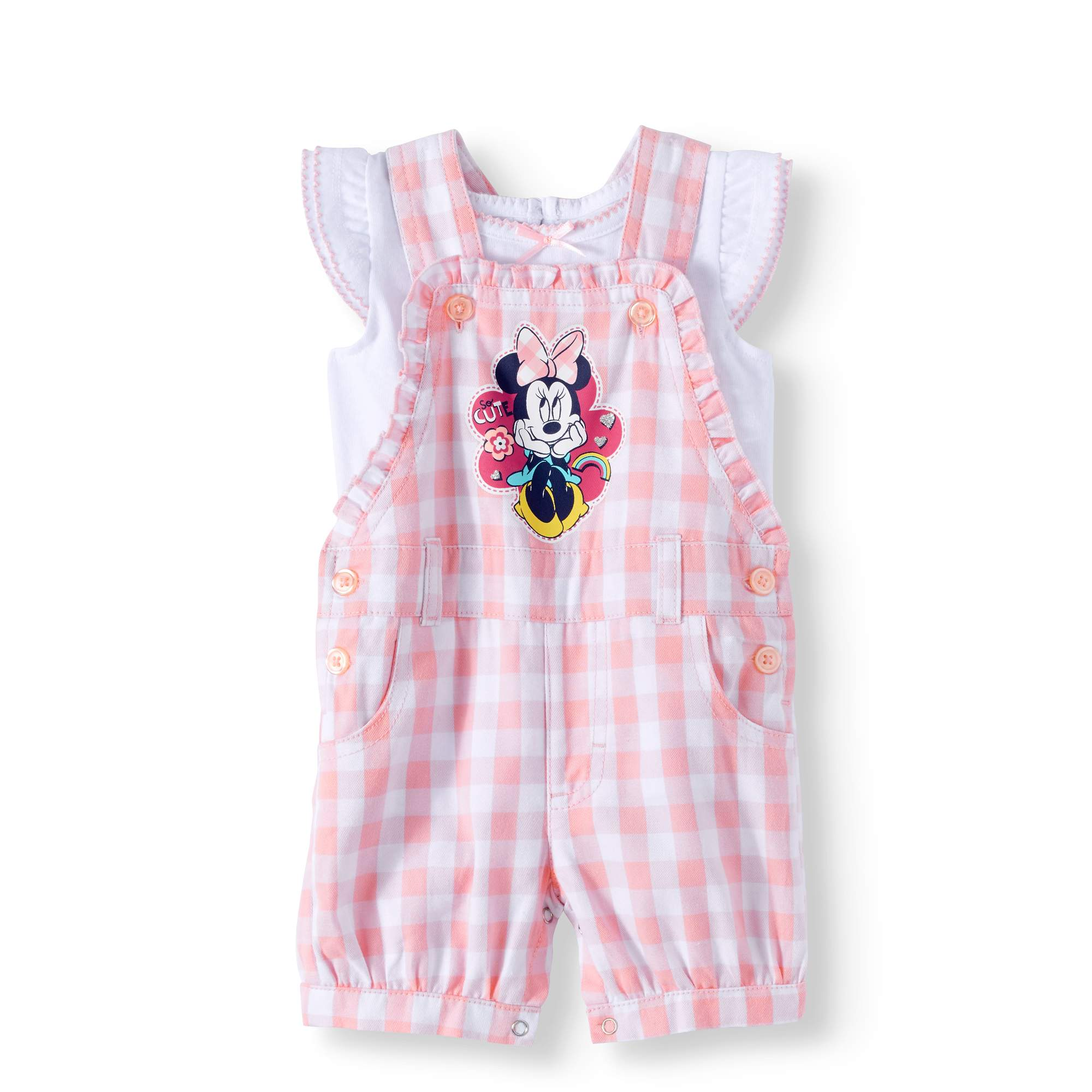 Minnie Mouse Infant Girls Pink Pram Size 0//3M 3//6M 6//9M $40