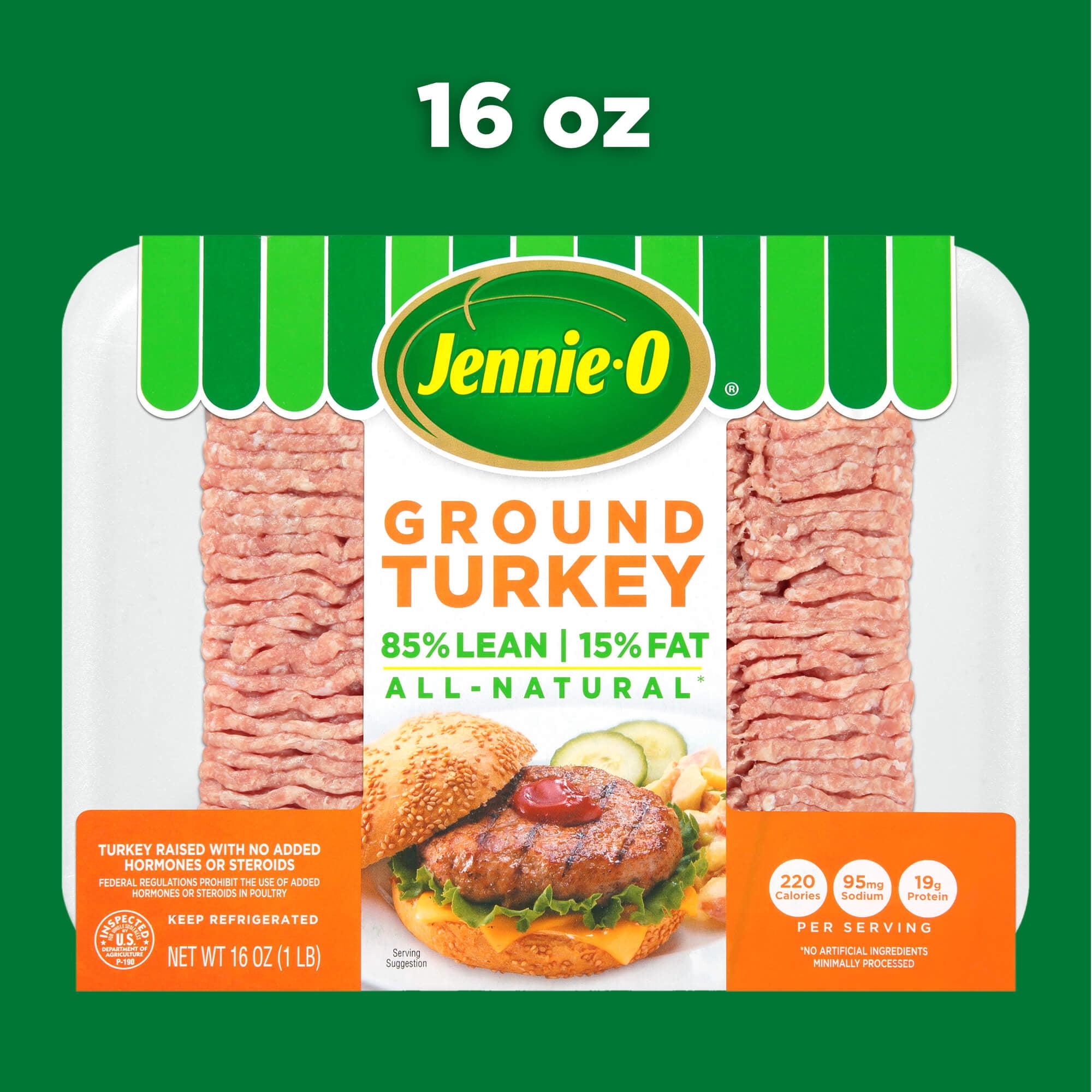 Jennie O Ground Turkey 16 Ounce 1 Pound Walmart Com Walmart Com
