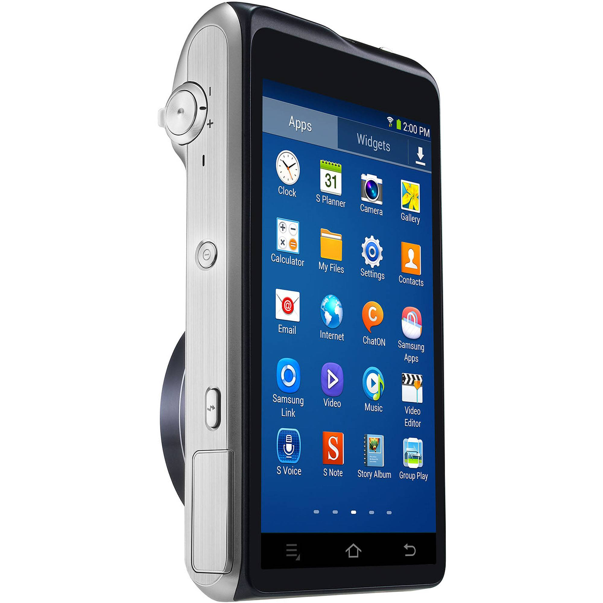 Samsung Galaxy Camera 2 with Android Jelly Bean v4.3 OS, 16.3MP CMOS with 21x Optical  Zoom and 4.8 Touch Screen LCD (WiFi & NFC