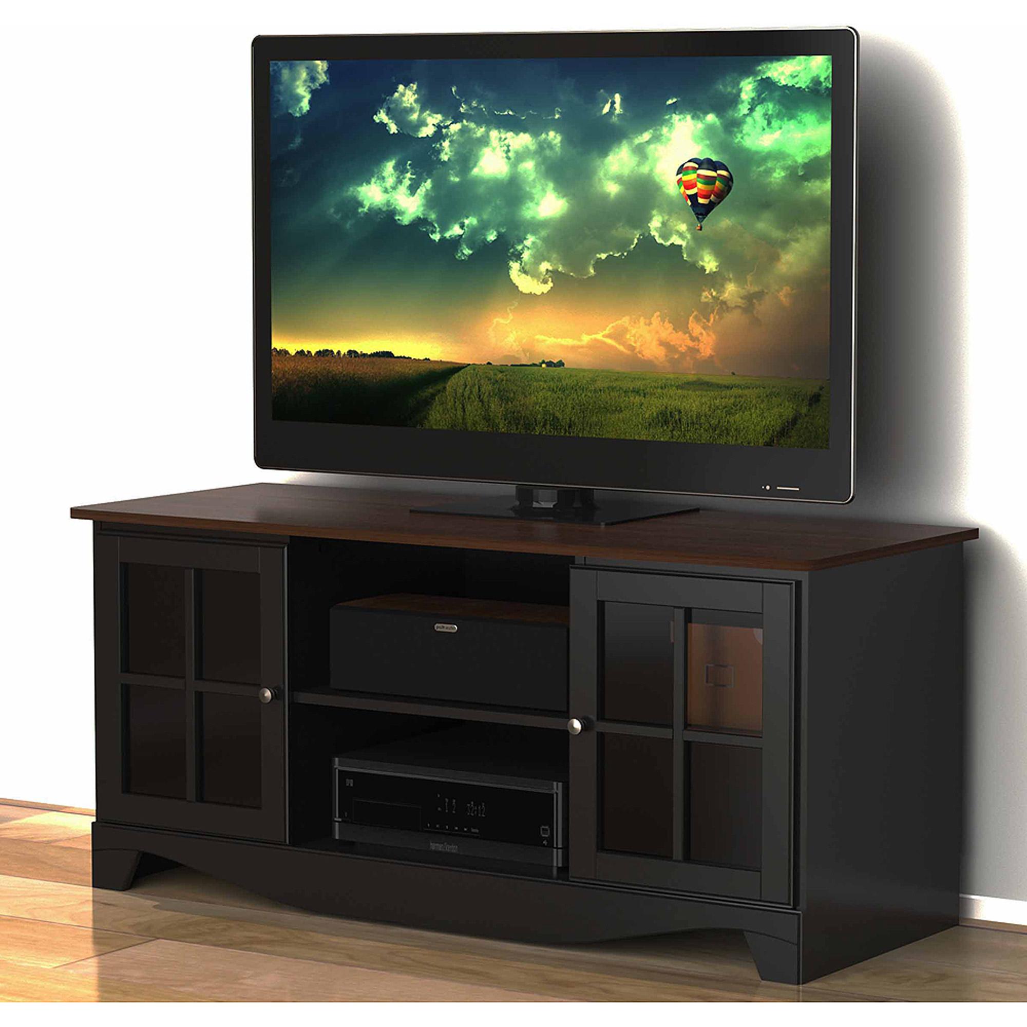"""Nexera Pinnacle Cinnamon/Cherry HEC TV Stand for TVs up to 54"""""""