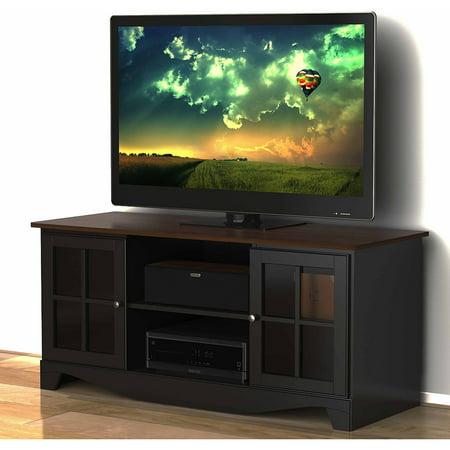 Nexera Pinnacle Cinnamon Cherry Hec Tv Stand For Tvs Up To 54