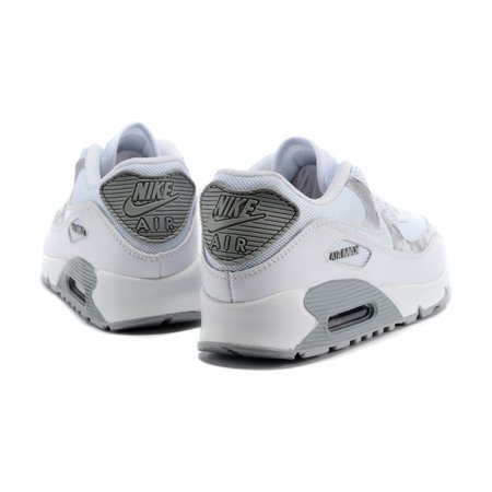 online store 1c164 4571d NIKE Air Max 90 Ultra 2.0 Essential Running Shoe White Gray Women Shoe