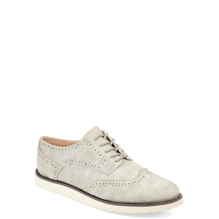 Comfort Womens Wingtip Lace-up Loafer