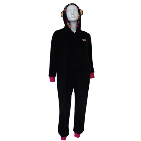 Paul Frank Julius Black Fleece Onesie