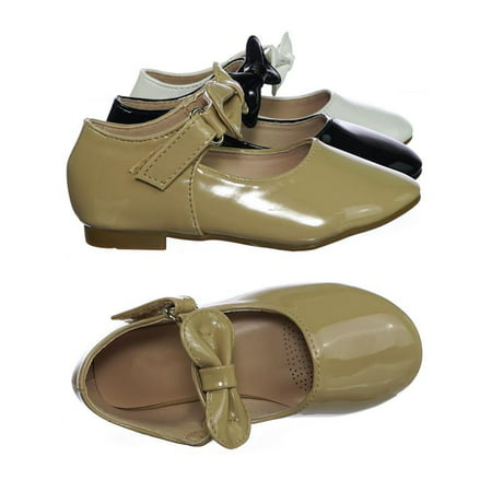 Gloria64KA by Forever Link, Simple Baby Toddler Girls Flat Ballet Ballerina Mary-Jane Shoes