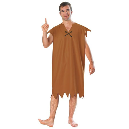 Barney Halloween Costume Adults (Men's Barney Rubble Costume)