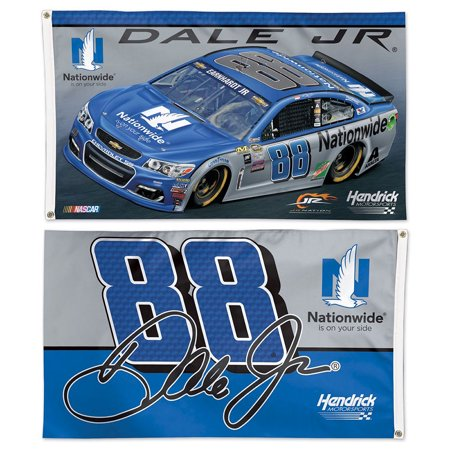 Dale Earnhardt Jr  Nationwide Two Sided Flag