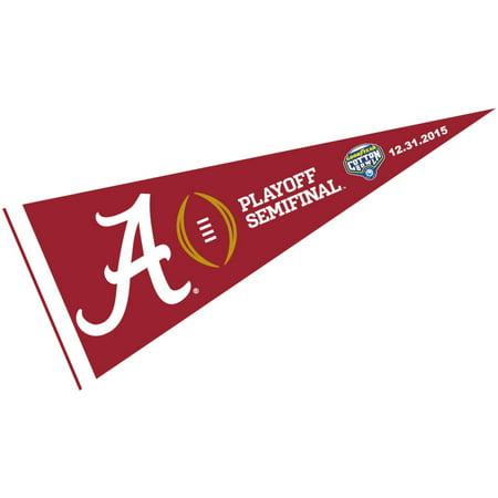 Alabama Crimson Tide College Football Playoff 12  X 30  Felt College Pennant