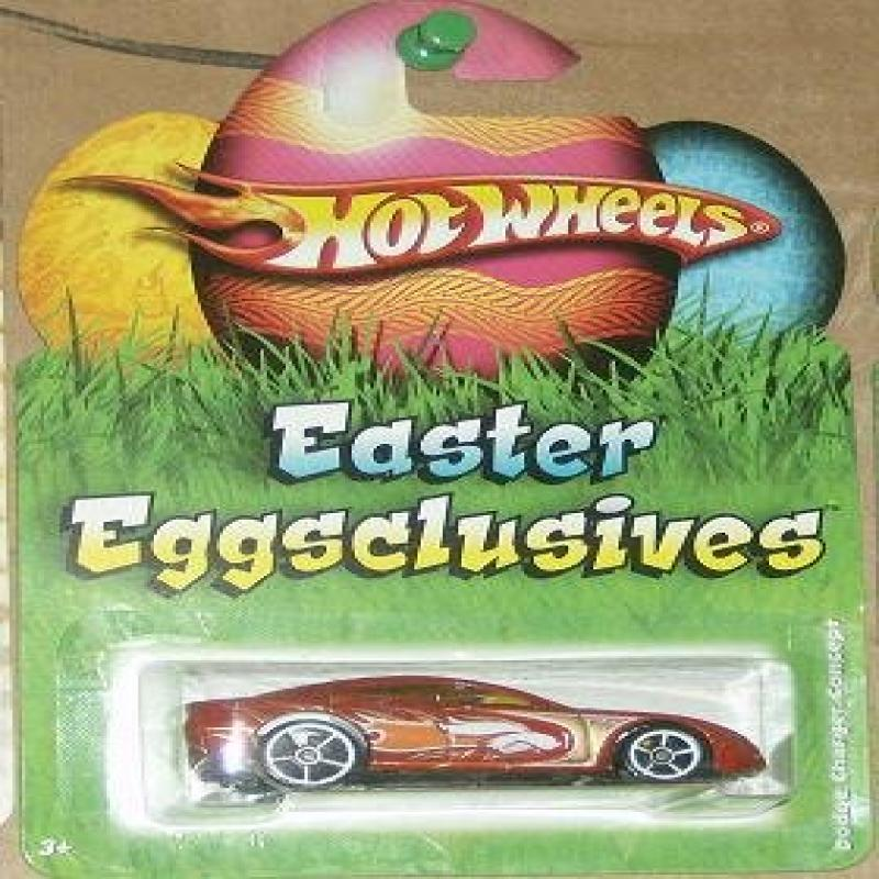 Mattel Hot Wheels 2009 Easter Eggsclusives 1:64 Scale Diecast Car Dodge Charger Concept by