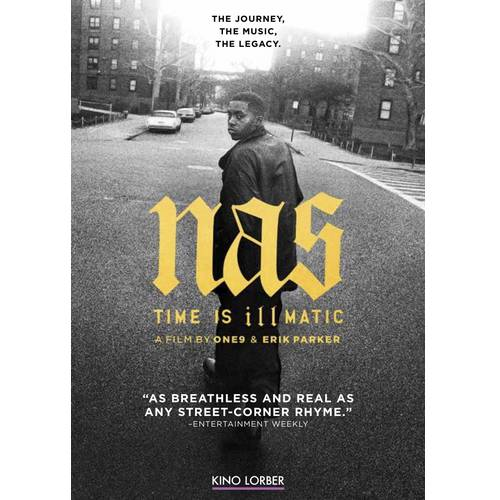 Click here to buy NAS: Time is Illmatic (Music DVD) by Kino International.