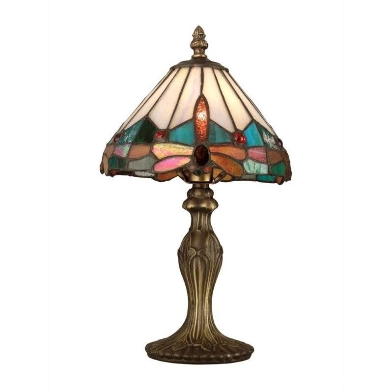 Dale Tiffany Tiffany Jewel Dragonfly Accent Lamp